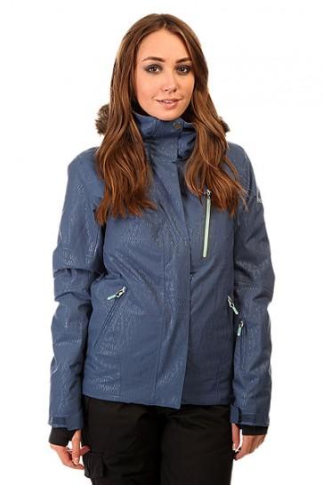 Куртка женская Roxy Jet Ski Prem Jk Ensign Blue BIOTHERM, 1131802,  Roxy, цвет синий