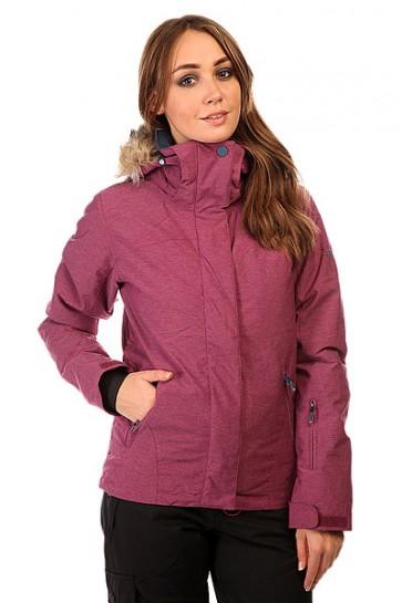 Куртка женская Roxy Jet Ski Text Jk Magenta Purple, 1131806,  Roxy, цвет фиолетовый