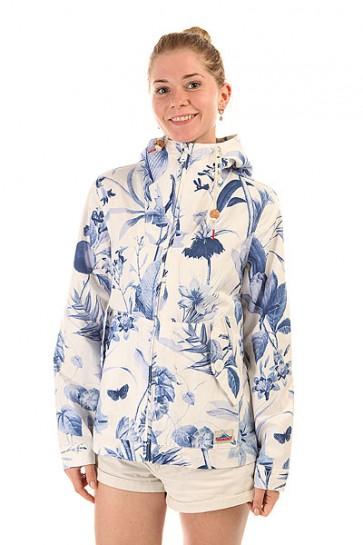 Куртка женская Penfield Gibson Botanical Jacket Blue, 1153056,  Penfield, цвет белый, синий