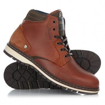 Ботинки высокие Wrangler Miwouk Anthracite, 1157252,  Wrangler, цвет коричневый