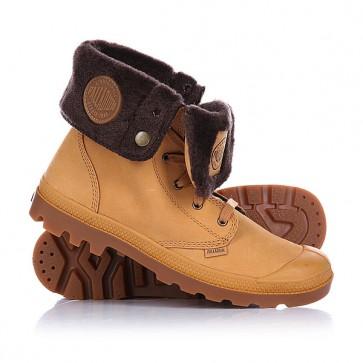 Ботинки зимние Palladium Baggy Amber Gold/Chocolate, 1102059,  Palladium, цвет коричневый