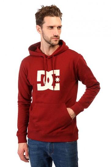 Толстовка кенгуру DC Star Ph Otlr Syrah, 1143134,  DC Shoes, цвет бордовый