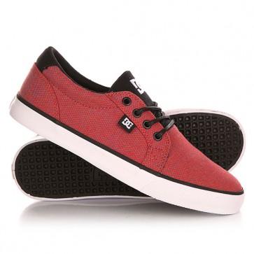 Кеды кроссовки низкие DC Council Tx Se Red Heather, 1143149,  DC Shoes, цвет красный