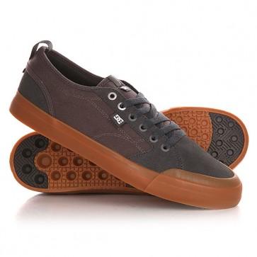 Кеды кроссовки низкие DC Evan Smith S 2gg Grey/Gum, 1143150,  DC Shoes, цвет серый