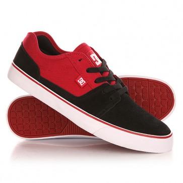 Кеды кроссовки низкие DC Tonik Black/Red, 1143160,  DC Shoes, цвет красный, черный