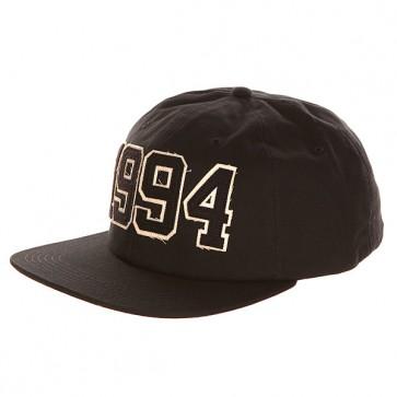 Бейсболка с прямым козырьком DC 1994 Black, 1139921,  DC Shoes, цвет черный