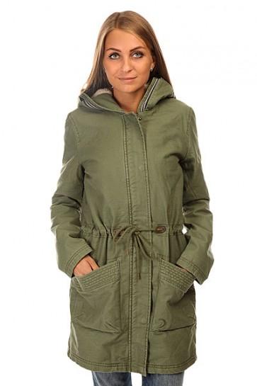 Куртка парка женская Roxy Top Of J Jckt Olivine, 1140056,  Roxy, цвет зеленый