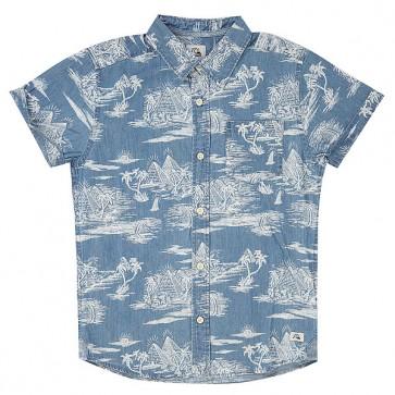 Рубашка детская Quiksilver Pyrapointssy Blue, 1148263,  Quiksilver, цвет голубой