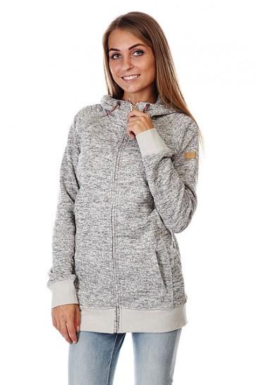 Толстовка женская Roxy Resin Knit Egret, 1125863,  Roxy, цвет серый