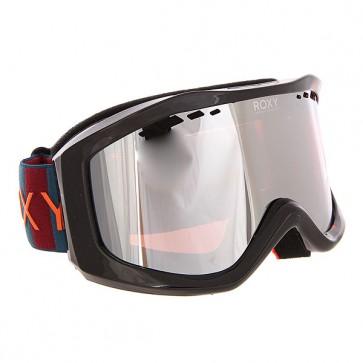 Маска для сноуборда женская Roxy Sunset Pack Ethnikstripe Legion, 1159128,  Roxy, цвет черный