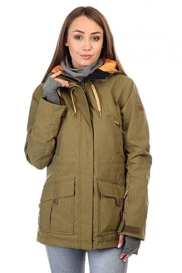 Куртка женская Roxy Tribe Military Olive, 1159180,  Roxy, цвет зеленый
