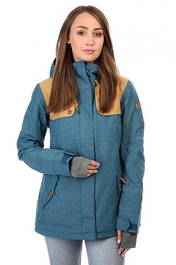 Куртка женская Roxy Lodge Legion Blue, 1159183,  Roxy, цвет синий