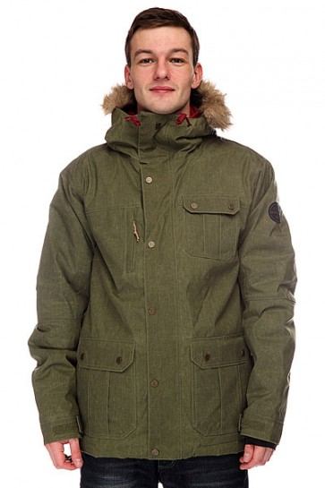 Куртка Quiksilver Storm Jacket Winter Moss, 1099924,  Quiksilver, цвет зеленый