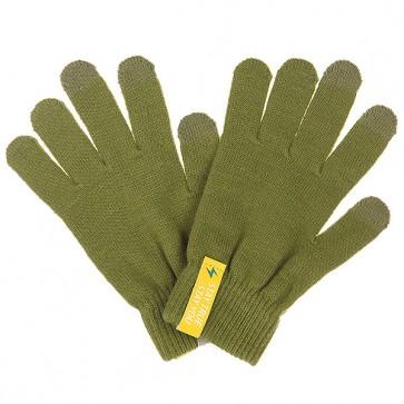 Перчатки TrueSpin Touchgloves Olive, 1102752,  TrueSpin, цвет зеленый