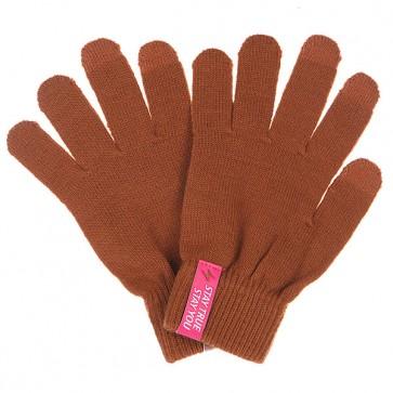 Перчатки TrueSpin Touchgloves Brown, 1102757,  TrueSpin, цвет коричневый