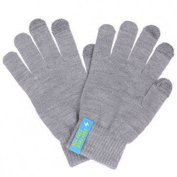 Перчатки TrueSpin Touchgloves Light Grey, 1102760,  TrueSpin, цвет серый