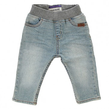 Штаны прямые детские Quiksilver Thick Wood Baby I Pant Blue Salted, 1143609,  Quiksilver, цвет голубой