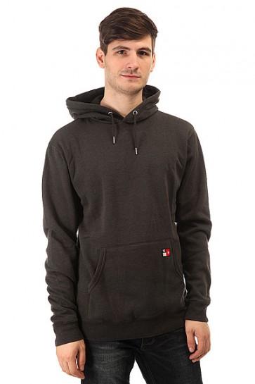 Толстовка кенгуру DC Core Pullover Otlr Pirate Black, 1148635,  DC Shoes, цвет серый