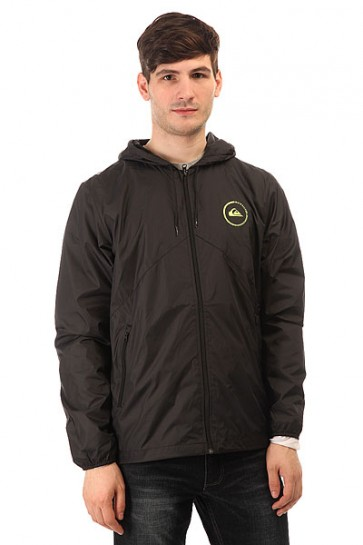 Ветровка Quiksilver Everyday Jacket Anthracite, 1113552,  Quiksilver, цвет черный