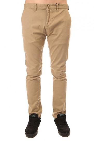 Штаны узкие DC Wrk Slm Chno 32 Khaki, 1148650,  DC Shoes, цвет бежевый