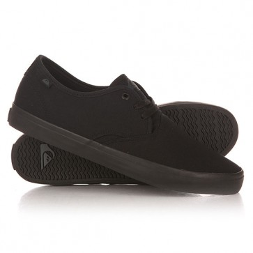 Кеды кроссовки низкие Quiksilver Shorebreak M Shoe Sbkm Solid Black, 1148659,  Quiksilver, цвет черный