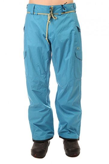 Штаны сноубордические Oakley Belmont Pant Utility Blue, 1155608,  Oakley, цвет голубой
