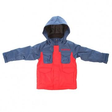 Куртка детская Burton B Twc Cannon Jk Atlantic/Burner, 1155630,  Burton, цвет красный, синий