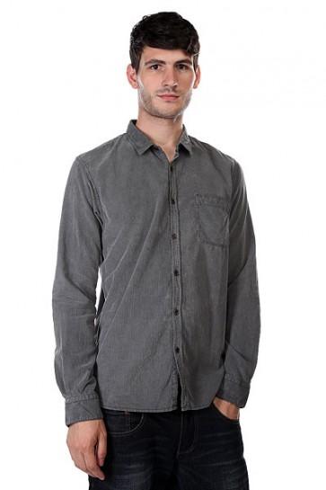 Рубашка Quiksilver Night Hit Ls Tarmac, 1123641,  Quiksilver, цвет серый