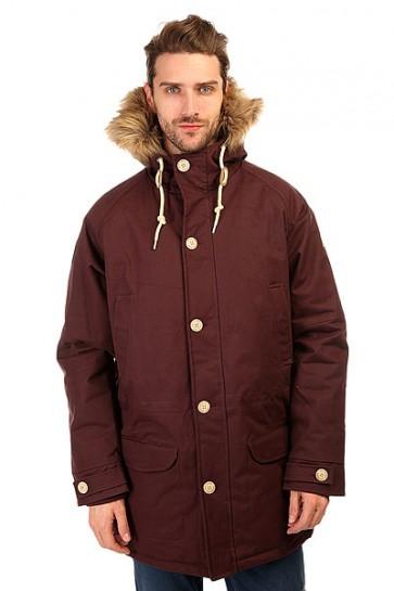 Куртка парка Запорожец Ditch Parka Chocolate, 1135757,  Запорожец, цвет бордовый