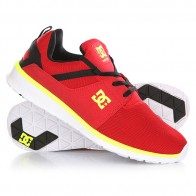 Кроссовки DC Heathrow Black/Red/Yellow