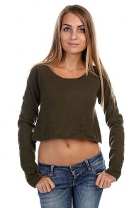 Топ женский Insight Knit Nack Sweater Camo Green