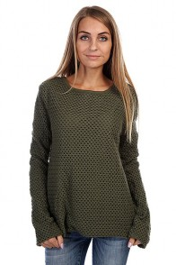 Свитер женский Insight All Meshed Up Jumper Acdc Green