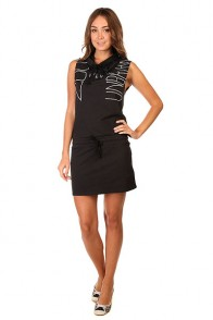 Платье женское Zoo York Vertigo Dress Real Black