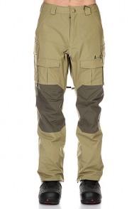 Штаны сноубордические Analog Tactical Pants Mash Green