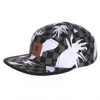Бейсболка пятипанелька DC Supercamp Hats Leafy Check Black