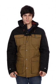 Куртка зимняя Element Hemlock Black/Brown
