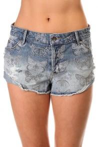 Шорты джинсовые женские Roxy Carmel Coast A Watercolour Butterfl