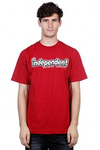 Футболка Independent Outline Cardinal Red
