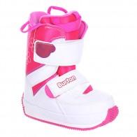 Ботинки для сноуборда детские Burton Grom White/Pink