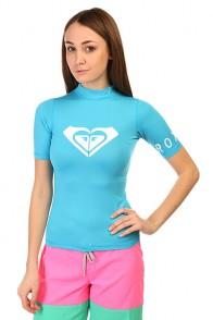 Гидрофутболка женская Roxy Lycra Contest Blue