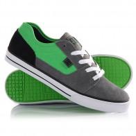 Кеды кроссовки низкие детские DC Tonik Grey/Black/Green