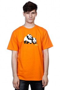 Футболка Enjoi Piggyback Pandas Orange