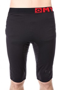Термобелье (низ) Mystic Bipoly Short Pants Black