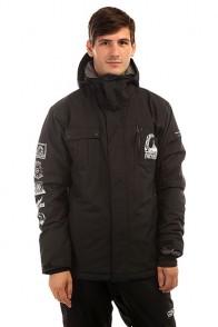 Куртка утепленная Quiksilver Mission Art Black