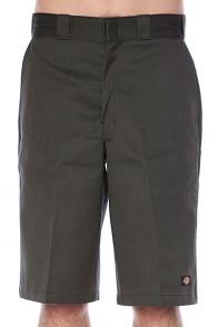 Классические мужские шорты Dickies 13 Multi Pocket Work Short Olive Green
