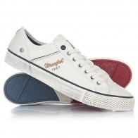 Кеды кроссовки низкие Wrangler Starry Low Canvas White