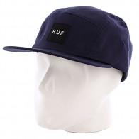 Бейсболка пятипанелька Huf Core Box Logo Volley Navy