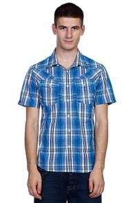 Рубашка Oakley O Western Woven Fluid Blue