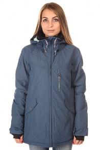 Куртка женская Roxy Wildlife Jk J Snjt Ensign Blue