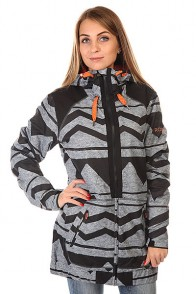 Куртка женская Roxy Valley Hood Jk J Snjt Damarisanthracite